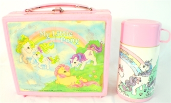 Did you ever have a My Little Pony Lunch Box or Thermos?