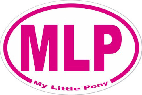 We got a special order in for our MLP bumper stickers in magenta & we have a few left  http://buff.ly/1BZla26