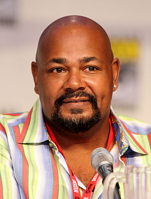 Kevin Michael Richardson at the 2010 Comic Con...