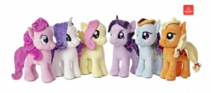 24 new My Little Pony plush styles coming from Aurora