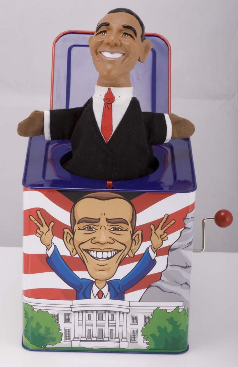 Barack-in-the-Box: The Barack Obama Jack in the Box
