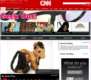 CNN interviews My Little Pony customizers Jodi Moisan & Mari Kasurinen