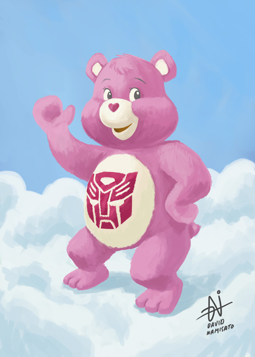 Transformers Autobot Care Bear
