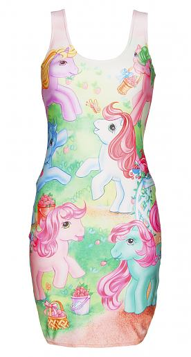 Retro My Little Pony Sweetberry Ponies Dress