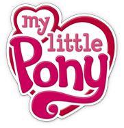 The current logo for My Little Pony