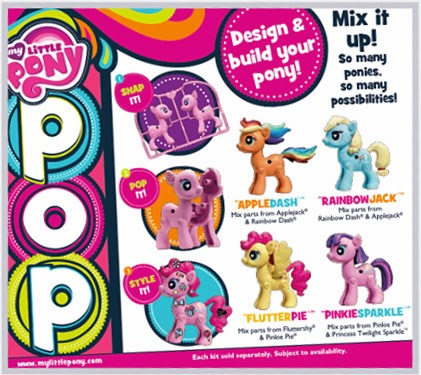 MY LITTLE PONY POP line is coming to the MY LITTLE PONY Fair!