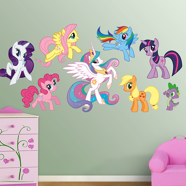 FatHead presents My Little Pony: Friendship is Magic (Huge!) Wall Graphics