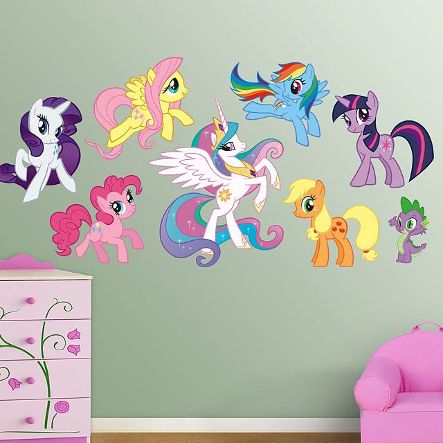 Fathead Presents My Little Pony Friendship Is Magic Huge Wall