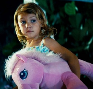 My Little Pony's Pinkie Pie made her feature film debut in Transformers (2007)