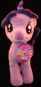 10 inch plush Twilight Sparkle from Aurora (front view)