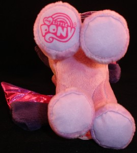 10 inch plush Twilight Sparkle from Aurora MLP logo on hoof