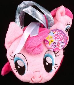 Pony Tail Carrier with 6.5 inch plush Pinkie Pie