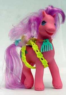 Child-friendly makeover: My Little Pony is aimed at children aged <br/>three to six