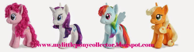 Aurora Plush Ponies with Brushable Hair Now Available!