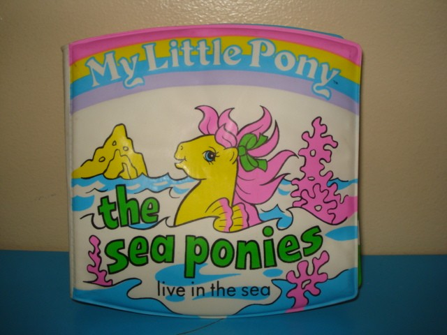 Did you ever read in the bath with the My Little Pony Sea Ponies?