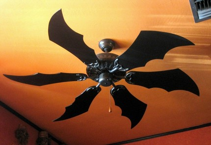 How sad are you that you missed the auction for the Batman ceiling fan?