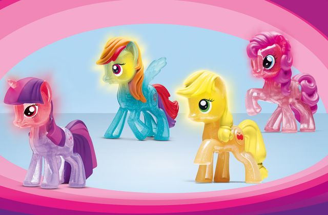 My Little Pony Friendship is Magic McDonalds Happy Meal Toys in Brazil