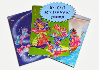 30th Anniversary My Little Pony Postcard Sets Available Now!