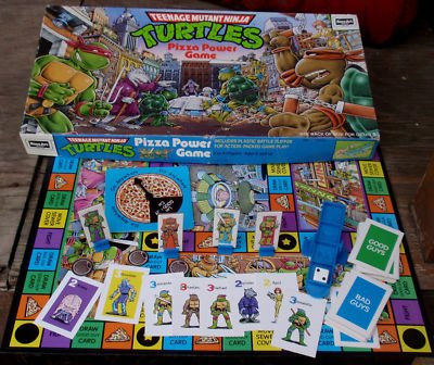 Who remembers the Teenage Mutant Ninja Turtles Pizza Power Board…