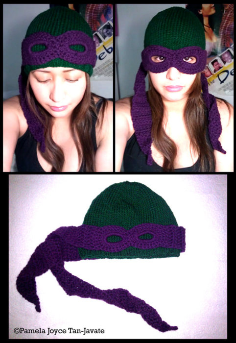 Convertible TMNT beanie. Needless to say, I want it.
