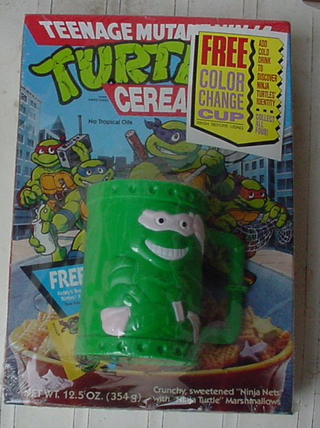 cowabungadudetmnthq:    Teenage Mutant Ninja Turtles Cereal…