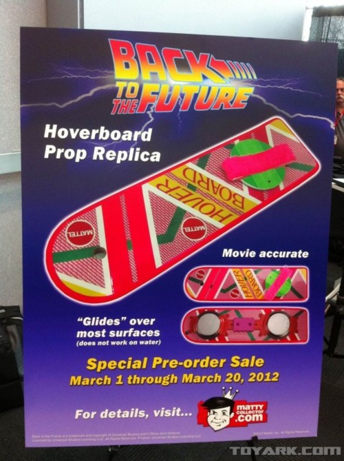 Your Back to the Future Hoverboard is here thanks to Mattel!…
