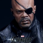 Samuel L. Jackson looks great in this Nick Fury action figure…