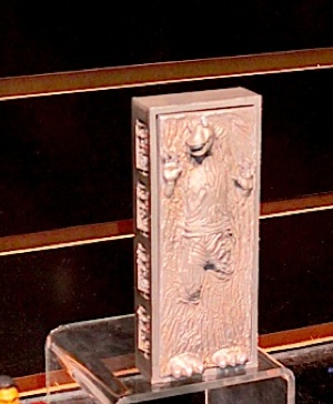 Jar Jar Binks in Carbonite is a Comic-Con 2012 exclusive…