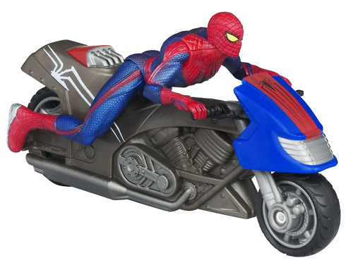 Spiderman action figures from the new film look great! Check out…