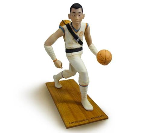 The Knick's Jeremy Lin Action Figure has already sold out,…
