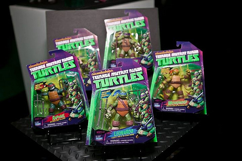 Can't wait for the new TMNT action figures? You can…