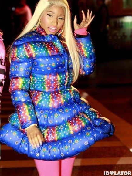 Do you think the outfit Nicki Minaj wore for her Adidas shoot…