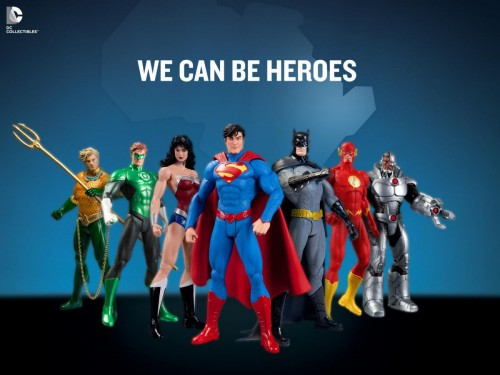 The DC Collectibles team also revealed a very special action…