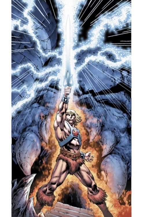 He-Man: Masters of the Universe comic book coming soon from DC…