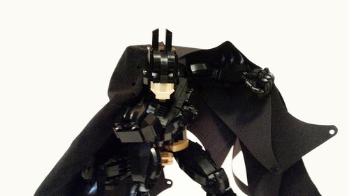 You have to check out this articulated Batman figure made entire…
