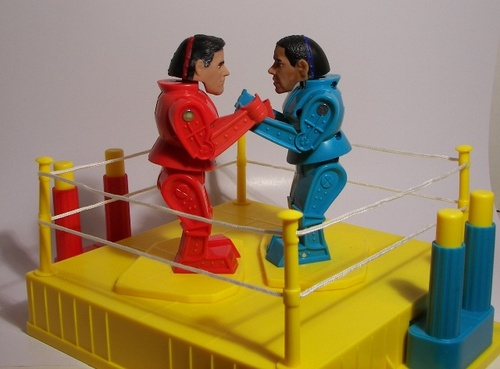 Here's a fun election related collectible: Obama vs Romney…