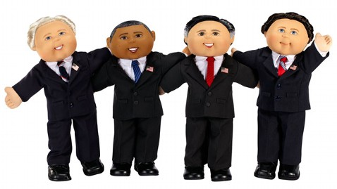 Have you seen the Cabbage Patch Kids dolls of Barrack Obama, Joe…