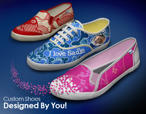 Customize your own Keds